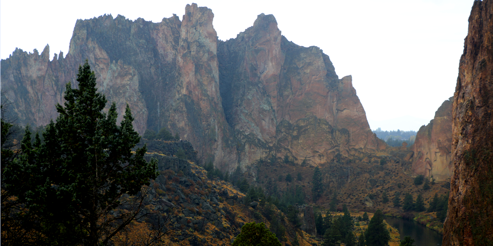 Smith Rock compliments of Oad Grove Family Medical Clinic!